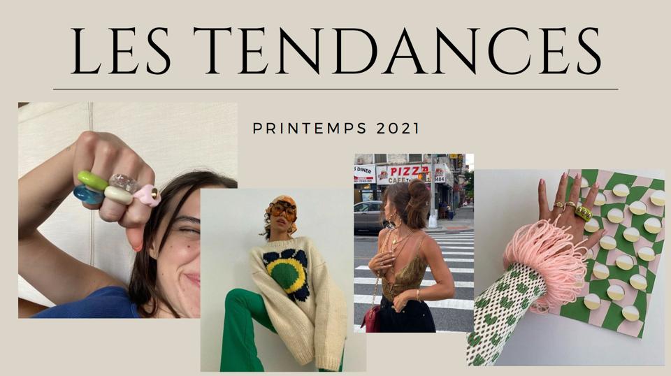 Tendance Printemps Été 2021 Mode