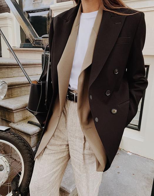 Printemps Été 2021 Mode veston superposition vêtements