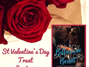 A box of treats for St Valentine's Day - 17 full length novels for 99c