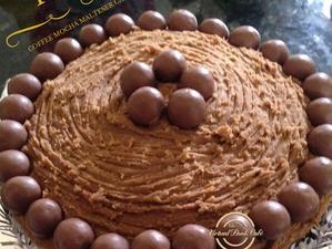 Coffee Mocha Malteser Cake Recipe