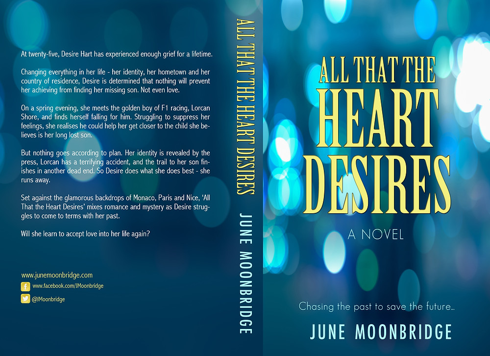 All That the Heart Desires Novel Cover Jacket