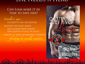 #Romance Book #Launch - Saving Lorelei by @JuliaBrightRom http://www.smarturl.it/SaveLor #KindleWorl