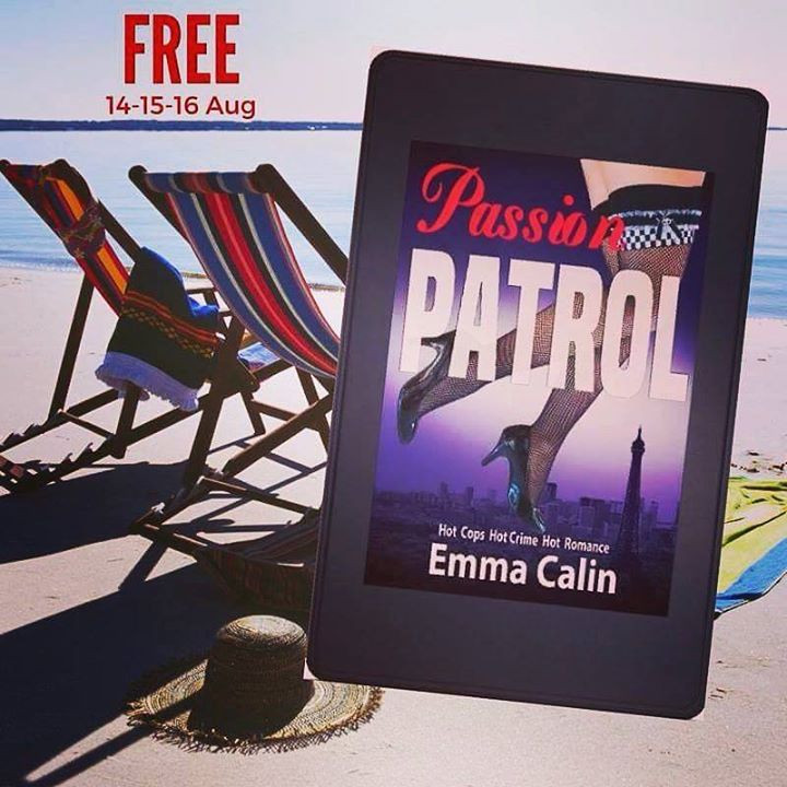 Passion Patrol 1 by Emma Calin on Kindle at Beach