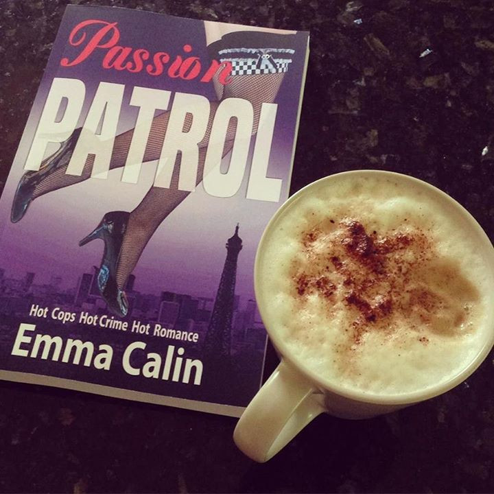 Passion Patrol 1 paperback with a coffee