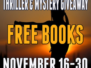 Thriller, Mystery and Suspense Reading For Thanksgiving