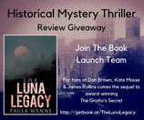 The Luna Legacy from @paulawynne #Historical #Mystery#Thriller - in search of reviewers