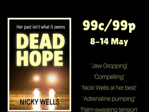 A review for DEAD HOPE: new suspense romance by Nikki Wells @WellsNicky