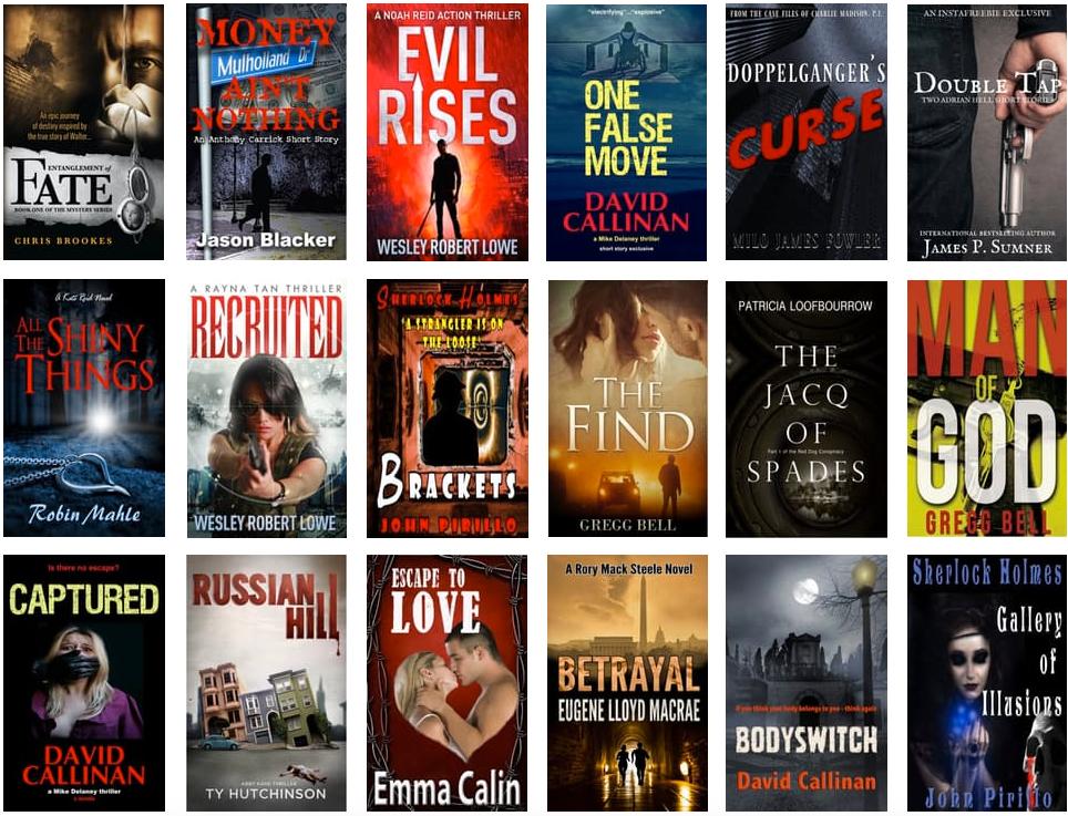 30 crime fiction stories for Dark Days Promo