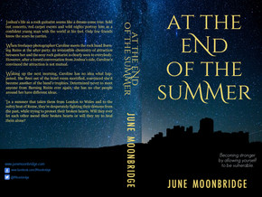 Cover reveal 'At the End of Summer' a #romance #novel by @JMoonbridge