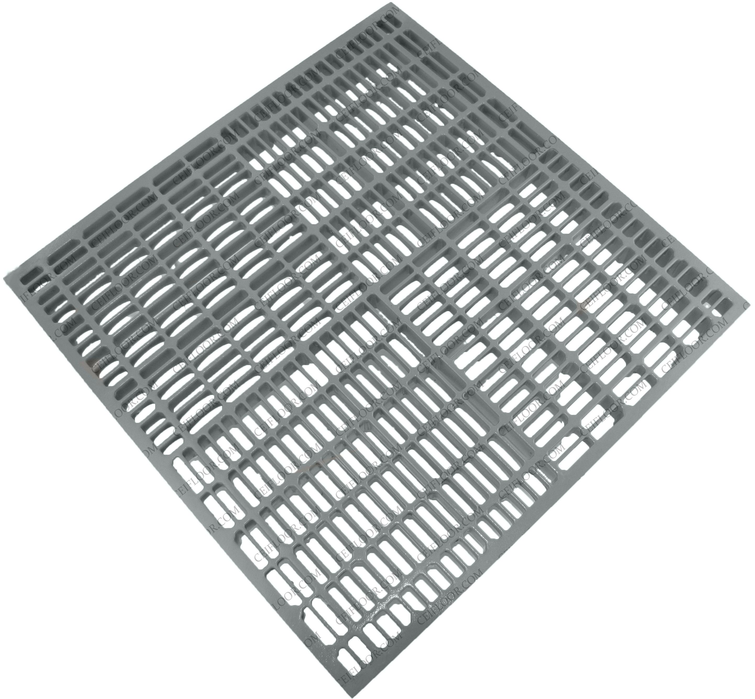 AA712 53% Open Area Aluminum Natural