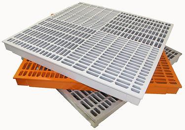 Aluminum raised access flooring
