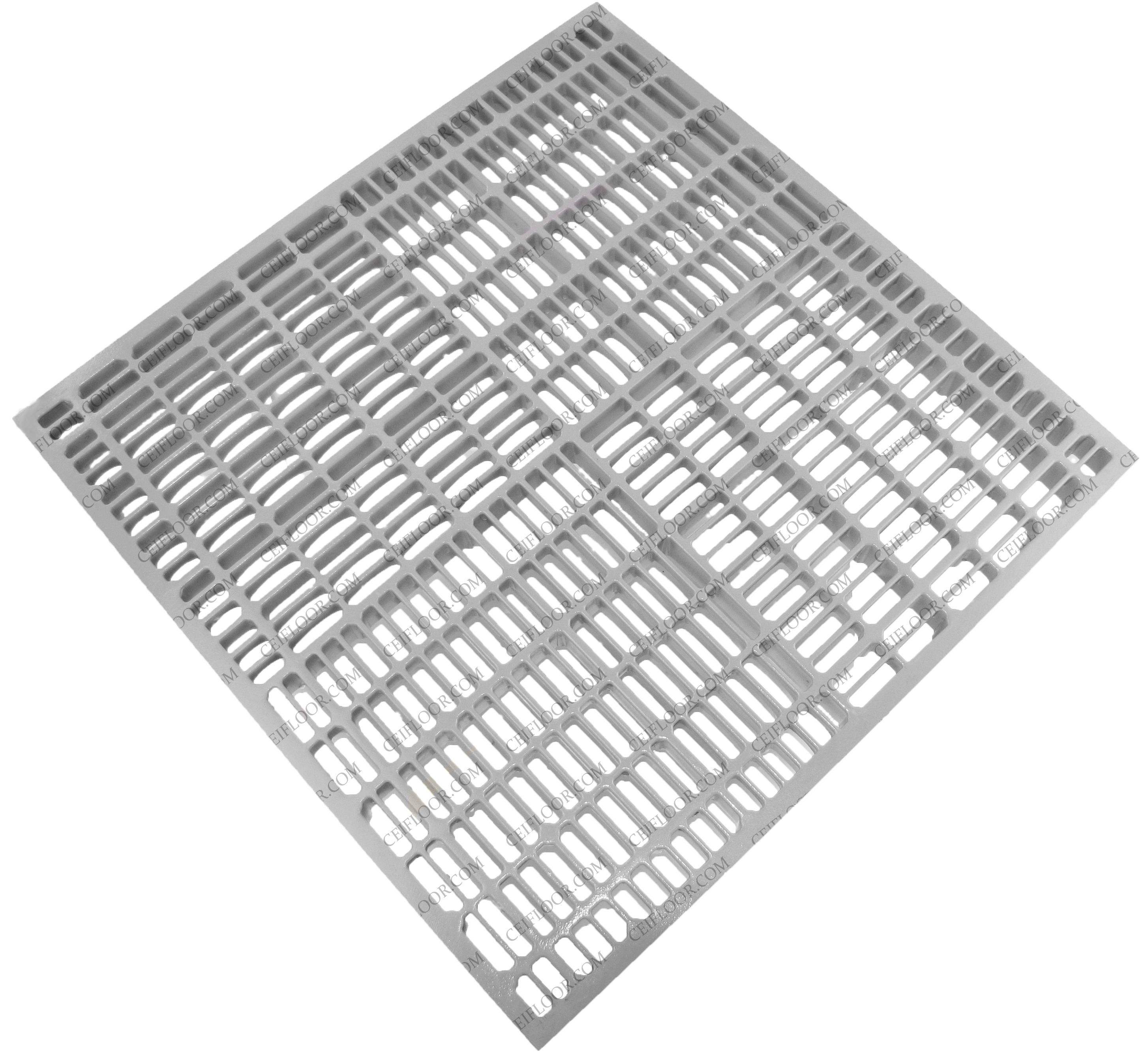 AA712 53% Open Area Aluminum White