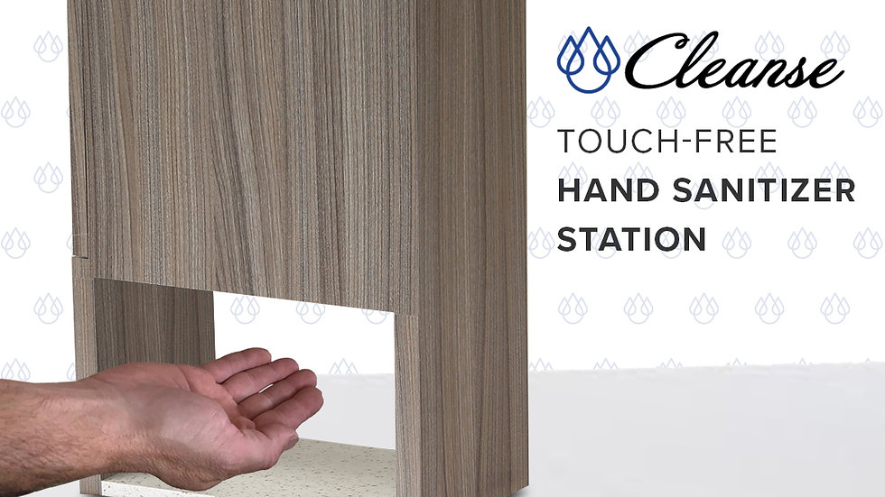 Cleanse Touch-Free Hand Sanitizer Station
