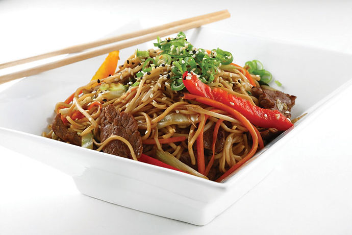 Beef with Noodles