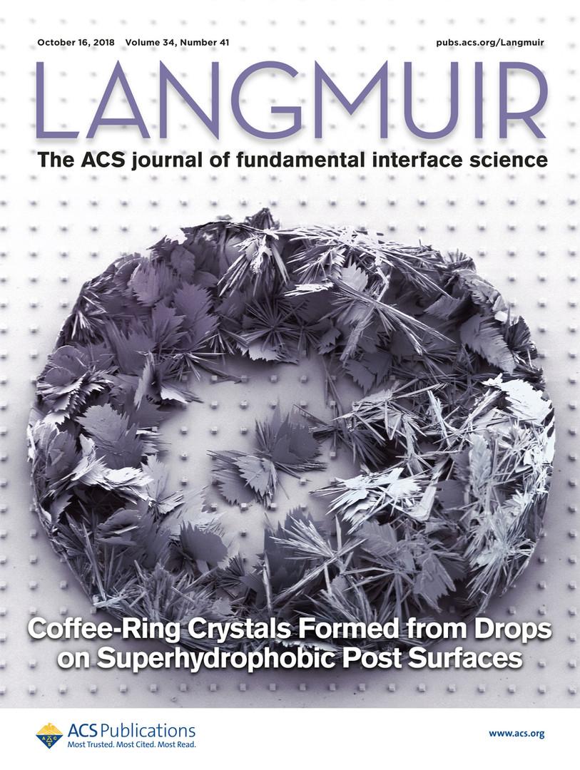Langmuir Cover October 2018