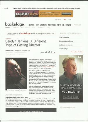Carolyn Jenkins Casting