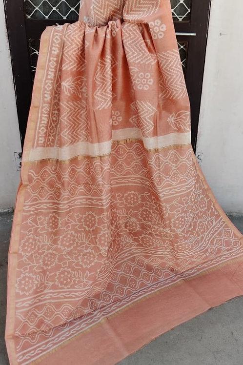 CS57 Instant wear saree with pocket