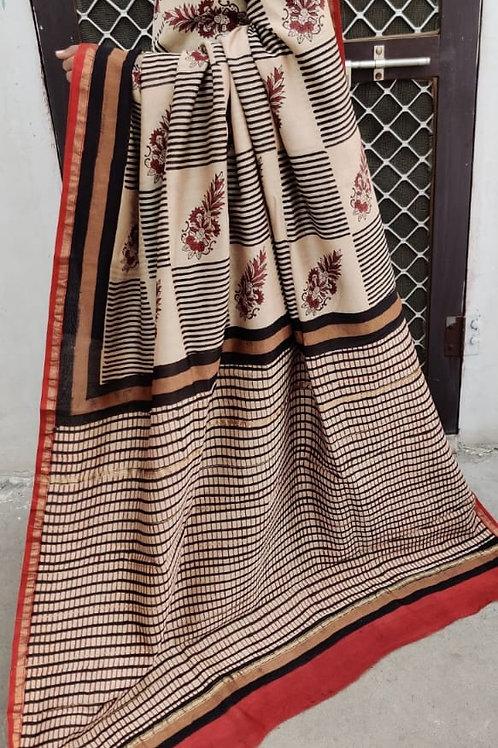 CS21 Instant wear saree with pocket