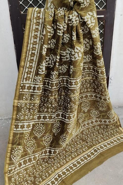 CS10 Instant wear saree with pocket