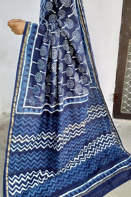 CS43 Instant wear saree with pocket