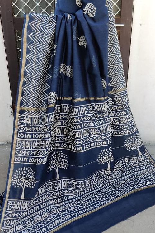 CS54 Instant wear saree with pocket