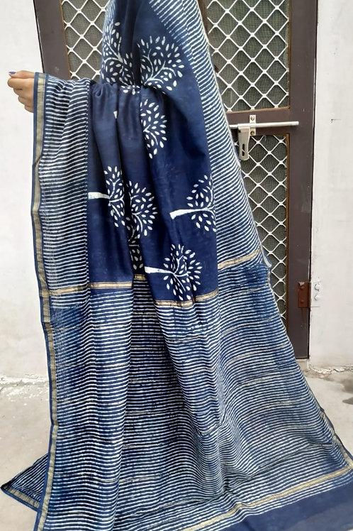 CS49 Instant wear saree with pocket