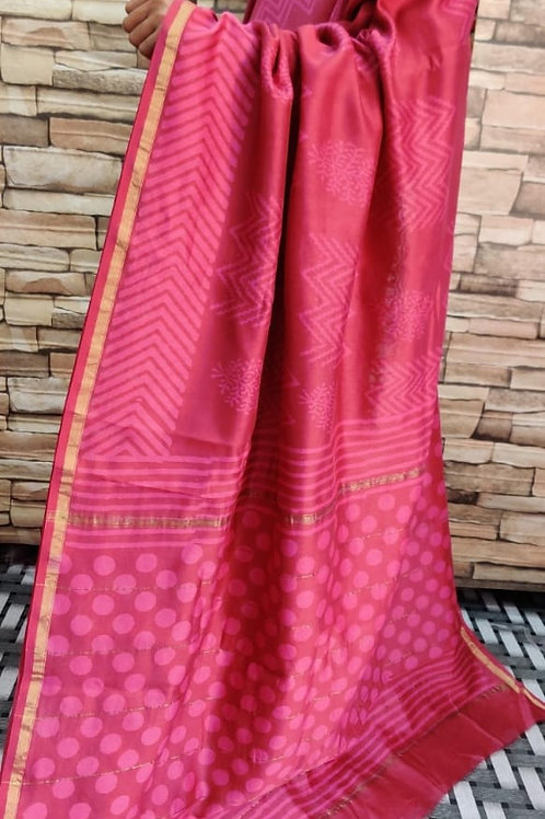 CS09 Instant wear saree with pocket