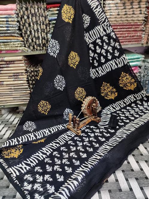 ML15 Instant wear saree with pocket