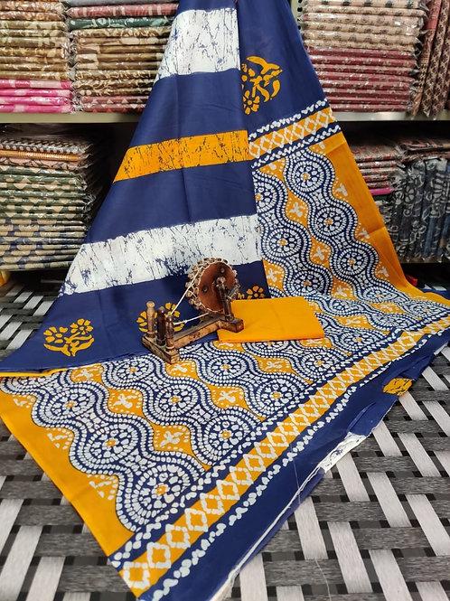 ML33 Instant wear saree with pocket