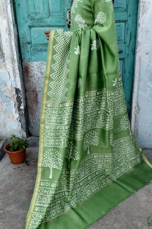 CS52 Instant wear saree with pocket