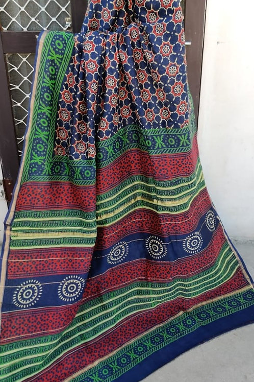 CS23 Instant wear saree with pocket