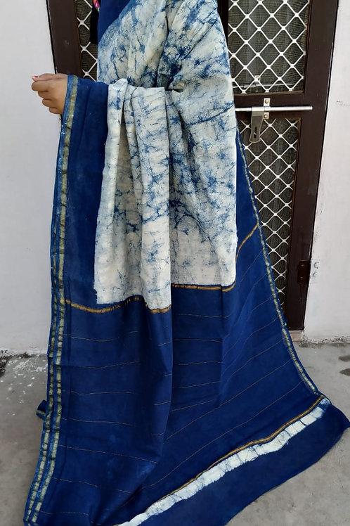 CS40 Instant wear saree with pocket