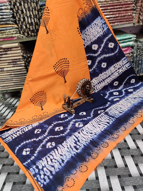 ML19 Instant wear saree with pocket
