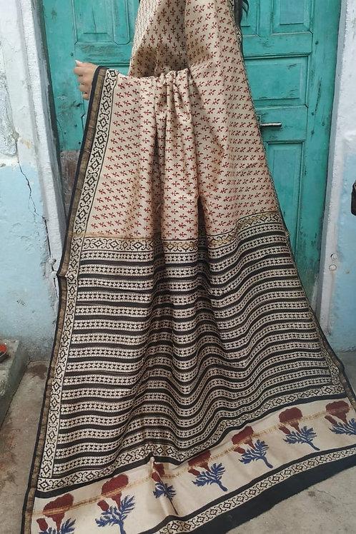 CS37 Instant wear saree with pocket