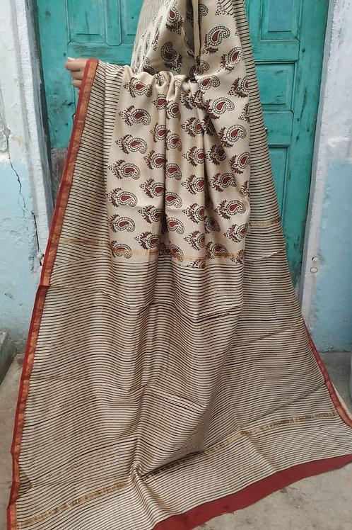 CS36 Instant wear saree with pocket