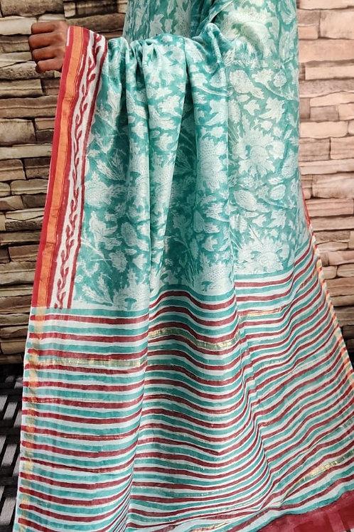 CS06 Instant wear saree with pocket