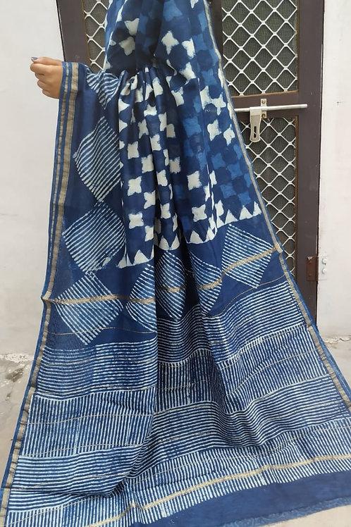 CS34 Instant wear saree with pocket