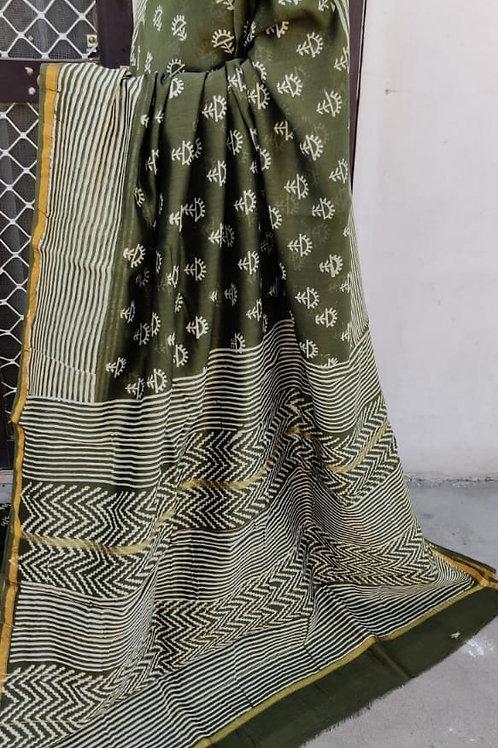 CS25 Instant wear saree with pocket