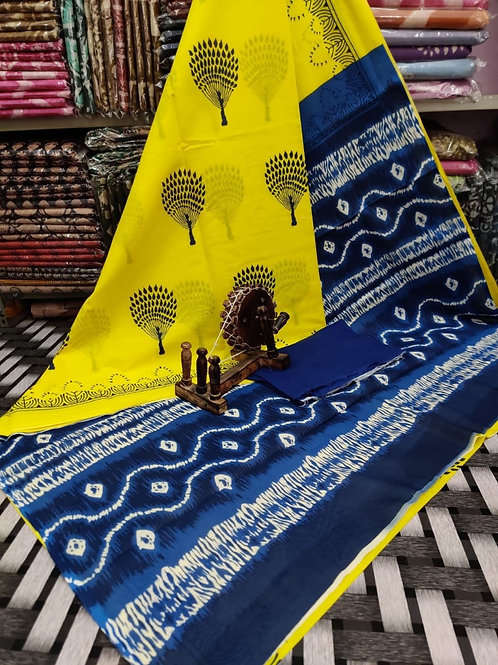 ML39 Instant wear saree with pocket
