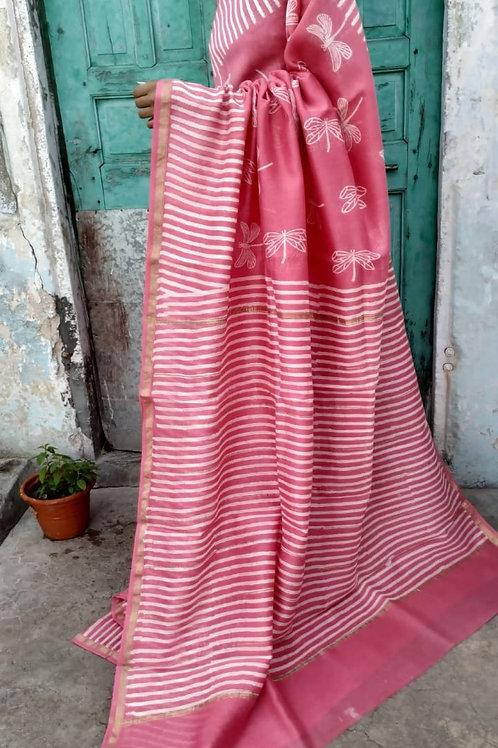 CS50 Instant wear saree with pocket