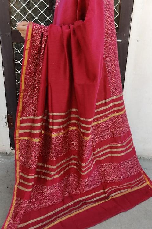 CS51 Instant wear saree with pocket