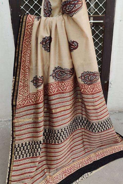 CS45 Instant wear saree with pocket