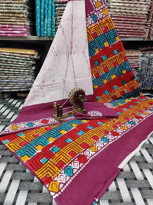ML24 Instant wear saree with pocket