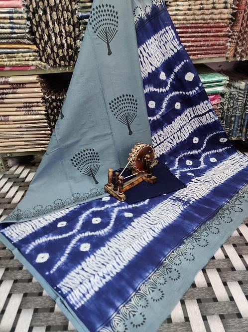 ML17 Instant wear saree with pocket