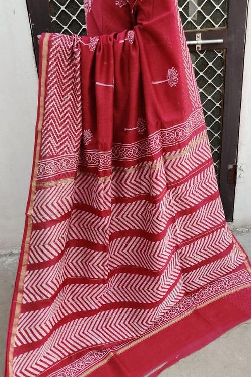 CS12 Instant wear saree with pocket