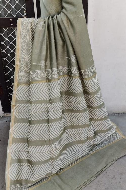 CS47 Instant wear saree with pocket