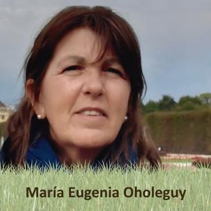 María Eugenia Oholeguy y el valor de trabajar en grupo