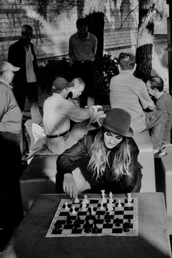 Chess in China Town