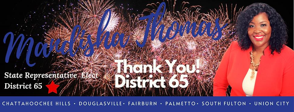 #1 State Representative Elect District 6