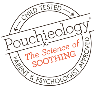 Pouchieology: The Science of Soothing, Parent tested parent approved, Child Psychology, Developmental Theory, child tested, child approved, psychologist tested and approved, transitional object, security blanket, blankie, security object